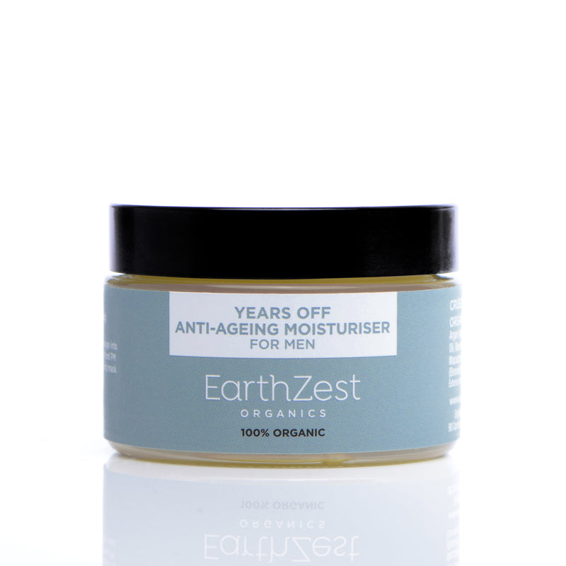 Anti-Ageing Cruelty Free Moisturiser for Men by EarthZest Organics