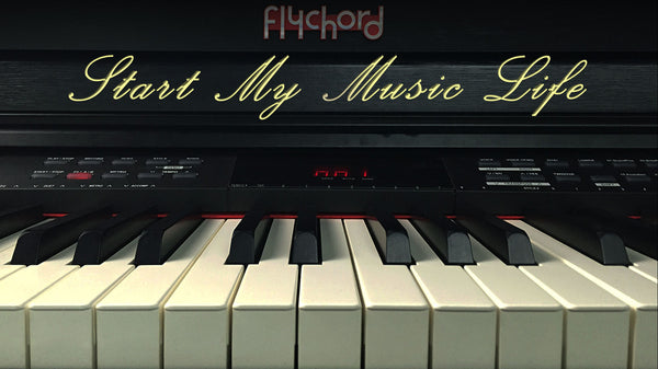 FLYCHORD PIANO LESSONS FOR PIANO BEGINNERS 3 -Middle C