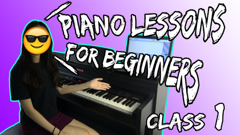 piano lessons for beginners class 1
