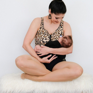 'MUMS GONE WILD' Breastfeeding Swimsuit
