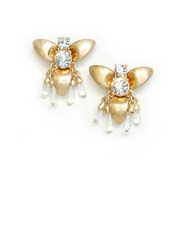 Romina Bee Crystal Earrings