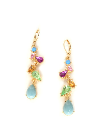 Raya Multicolored Drop Earrings