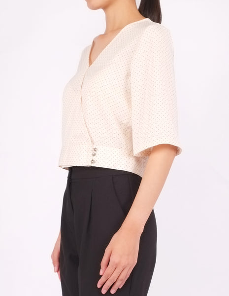 Bo Wrap Front Top (Dotted)