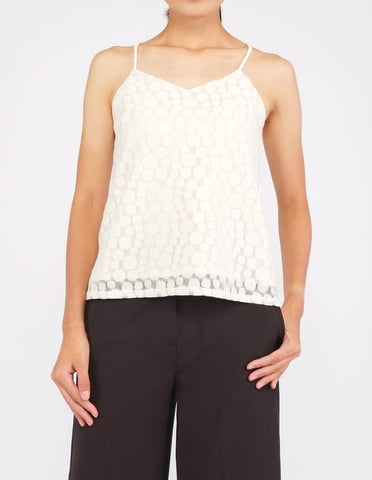 Brooklyn Crossback Top (Cream)