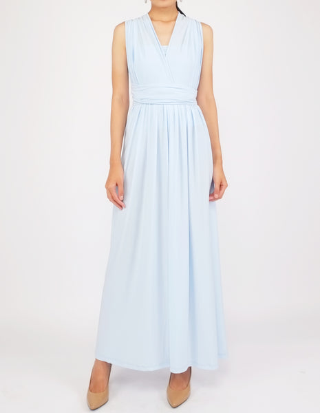 Erika Infinity Dress (Sky Blue)