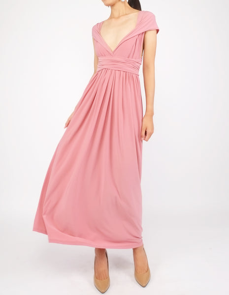 Erika Infinity Dress (Old Rose)