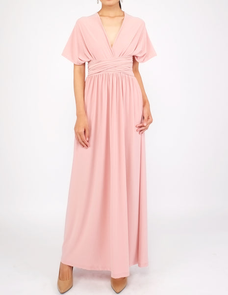 Erika Infinity Dress (Blush Pink)