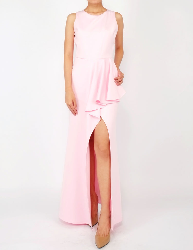 Hye Split Skirt Gown (Blush Pink)