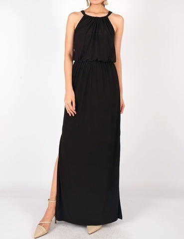 Eliza Maxi Dress (Black)
