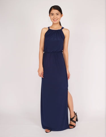 Eliza Maxi Dress (Navy)