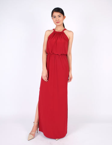 Eliza Maxi Dress (Red)