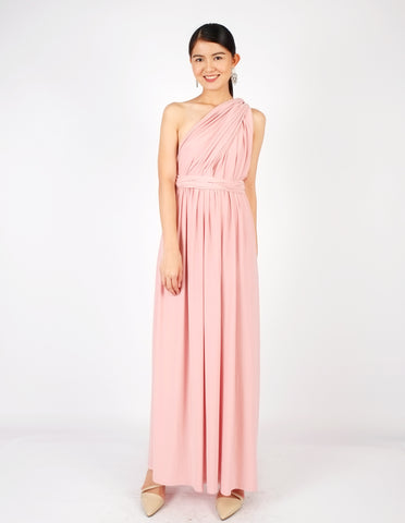 Erika Infinity Dress (Peach Nectar)