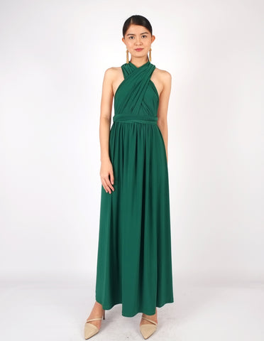 Erika Infinity Dress (Hunter Green)