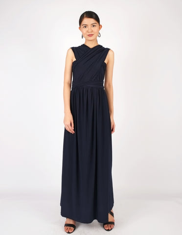 Erika Infinity Dress (Midnight Blue)