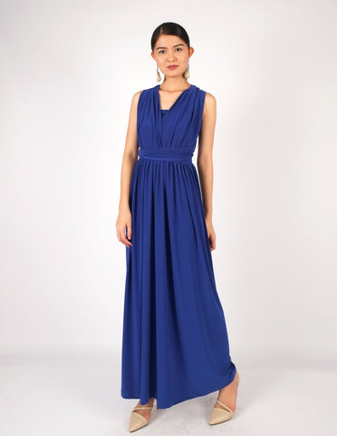 Erika Infinity Dress (Royal Blue)