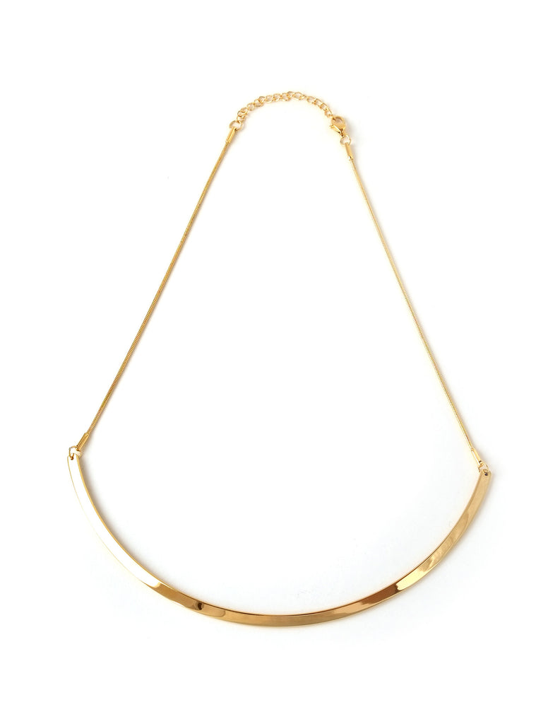 Essential Metallic Minimalist Necklace