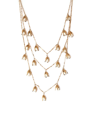 Jasmine Garland Layered Necklace