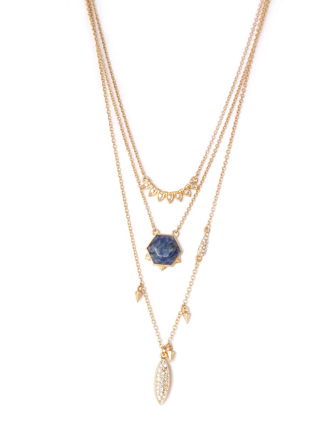 Natalie Lapis Pave Layered Necklace