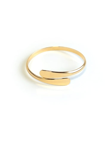 Olena Drop Ends Bangle Bracelet