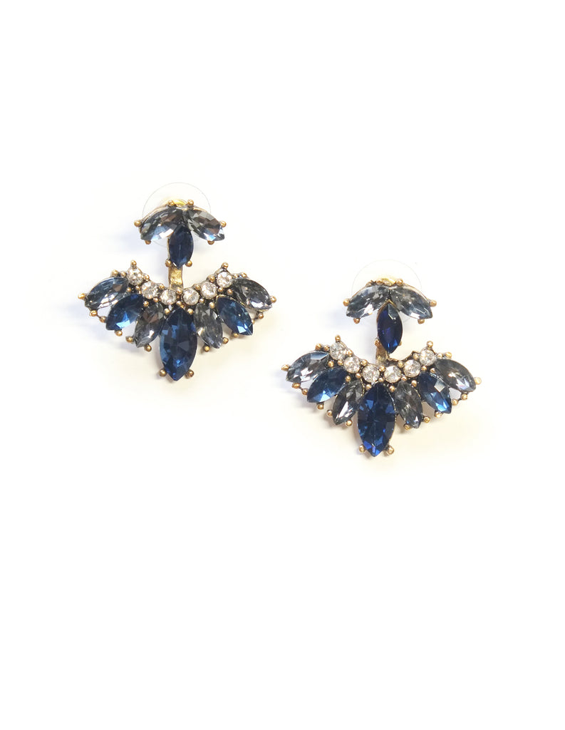 Pandora Crystal Ear Jacket (Midnight Blue)