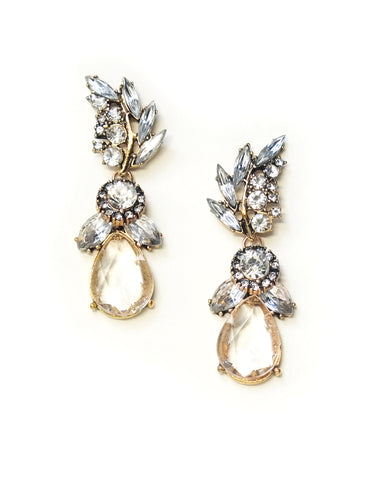 Paz Crystal Drop Earrings
