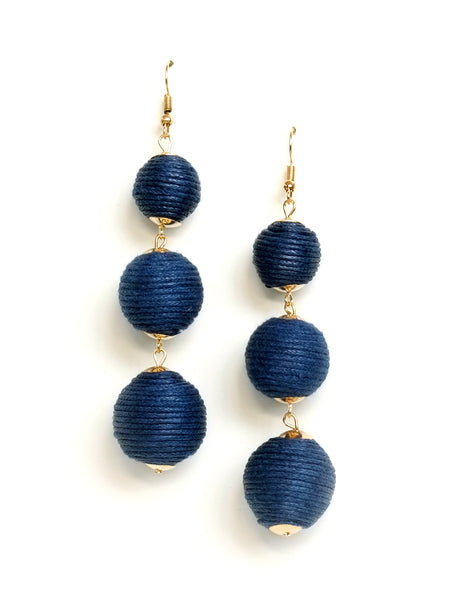 Perry Ball Drop Earrings (Colors Available)