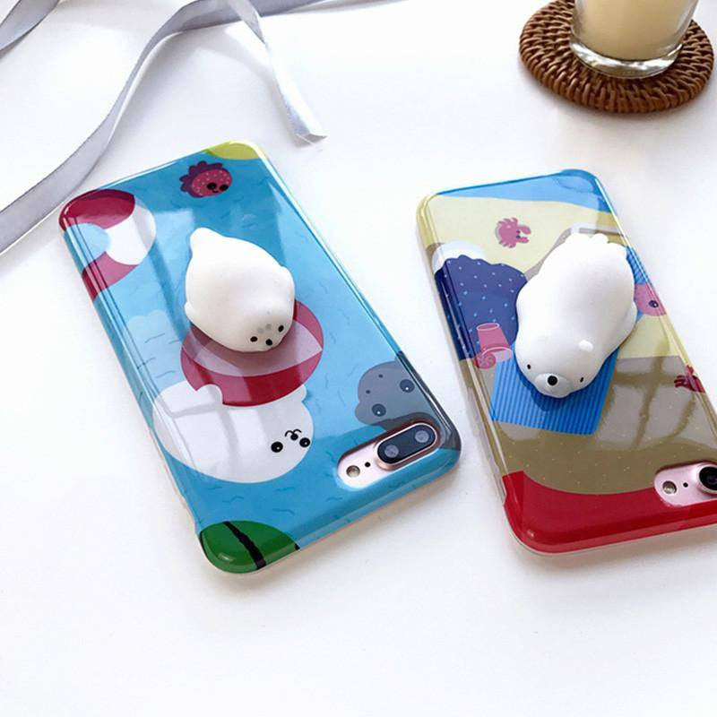 Squishy Animals For Phone : Squishy Seal Phone Case - Choicest1