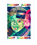 Drop Acid, Not Bombs - Women's Short Sleeve T-Shirt