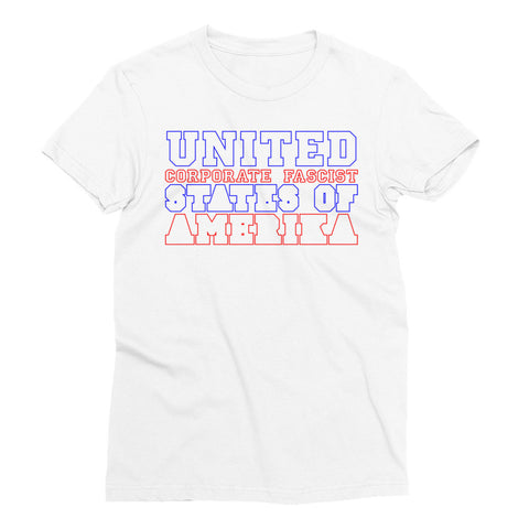 United Corporate Fascist States of Amerika - Women's Short Sleeve T-Shirt