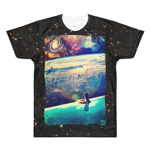 Infinity Space Pool - All-Over Print Unisex T-Shirt