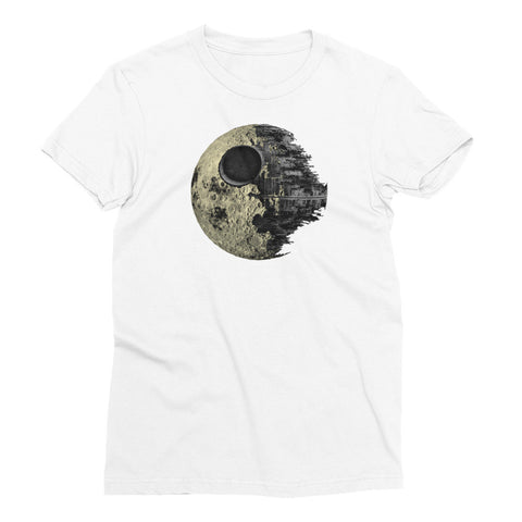 Deathstar Moon - Women's Short Sleeve T-Shirt