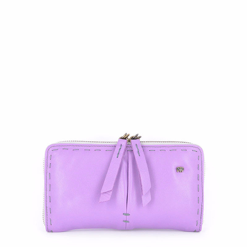 Owelthu Purple Wallet | Tsonga Handbags and Accessories | Handmade in South Africa