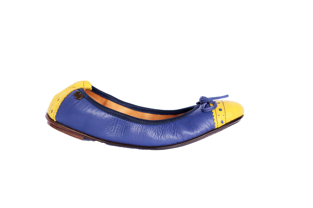 Tsonga Thempeli amatista leather ballet flats