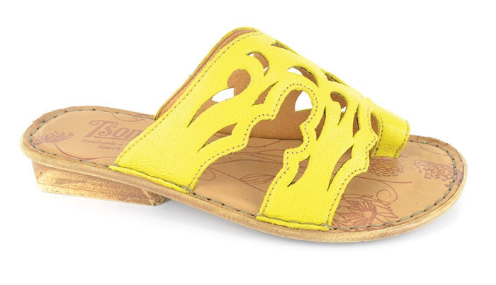 Tsonga Isivina yellow leather sandal | Tsonga USA