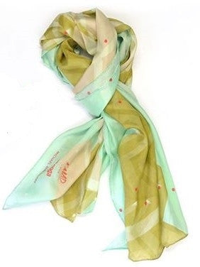 L'MAD for Tsonga African Abstract silk scarf