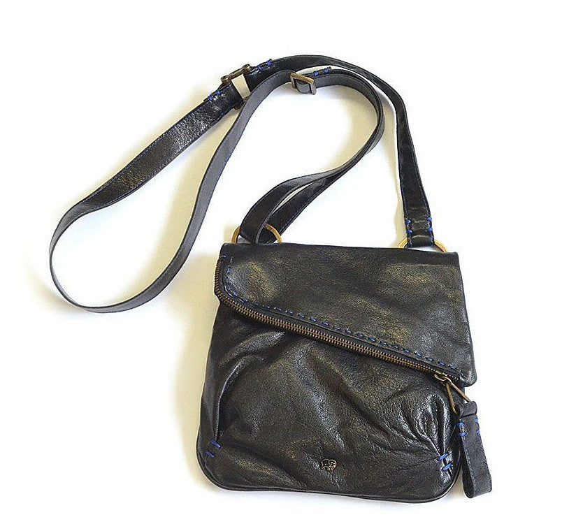 Nasiphi Black cross-body handbag | Tsonga handbag