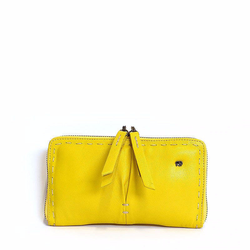 Owelthu Limone Wallet | Tsonga Handbags and Accessories | Handmade in South Africa