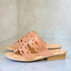 Tsonga Isivina light brown leather sandal | Tsonga USA