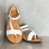 ENABISA White Sandals | Tsonga USA