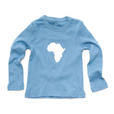 Continent Africa Long Sleeve Toddler Shirt