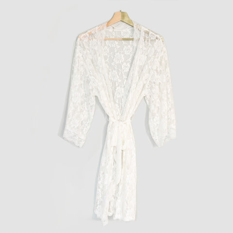 Robe Me In Bridal Robe