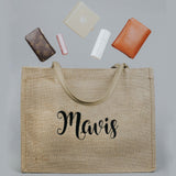 Best Seller : Bespoke Taylor Burlap Bag