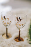 Paris Wine Glass