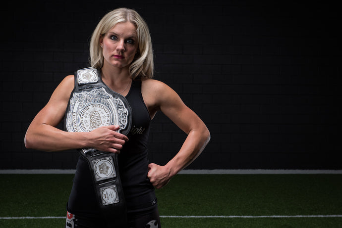 Undefeated MMA Fighter Jessica Kruger Attributes Fit4Her for Her Success