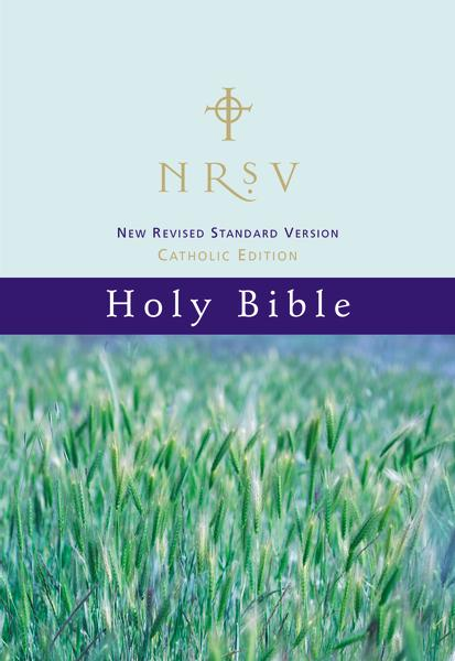 NRSV, Catholic Edition Bible, Paperback, Hillside Scenic