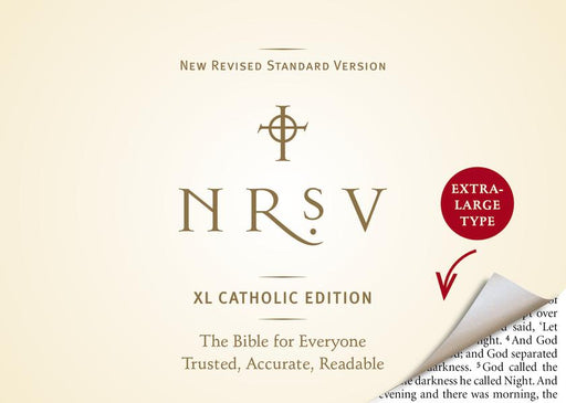 NRSV XL, Catholic Edition, Hardcover, Navy