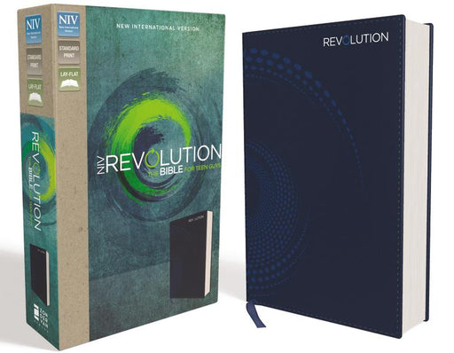 NIV, Revolution Bible, Leathersoft, Blue: The Bible for Teen Guys