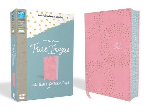 NIV, True Images Bible, Leathersoft, Pink, Printed Page Edges: The Bible for Teen Girls