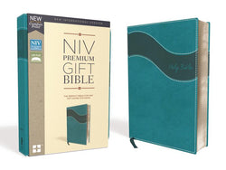 NIV, Premium Gift Bible, Leathersoft, Teal, Red Letter Edition, Comfort Print: The Perfect Bible for Any Gift-Giving Occasion