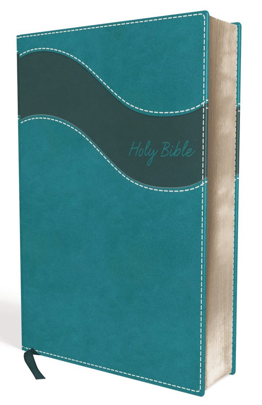 NIV, Premium Gift Bible, Leathersoft, Teal, Red Letter Edition, Indexed, Comfort Print: The Perfect Bible for Any Gift-Giving Occasion
